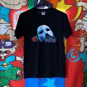 The Phantom of the opera 1986 re-print T-shirt